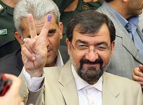 Il quarto candidato, l'ex capo storico dei Pasdaran Mohsen Rezaei (Ap)