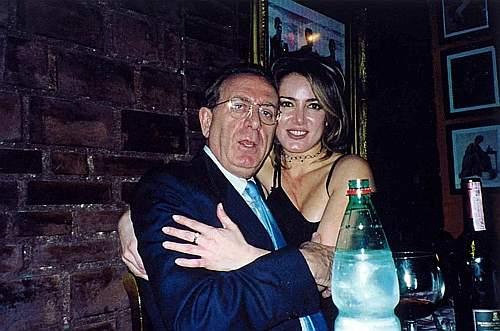 La D'Addario con Michele Mirabella