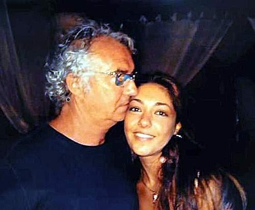 Barbara Montereale con Flavio Briatore (Photomasi)