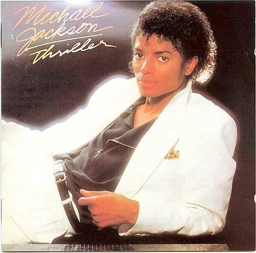 La copertina del mitico album «Thriller»