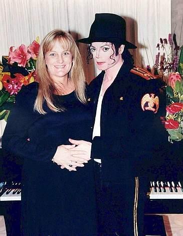 Con la seconda moglie, Debbie Rowe (Reuters)