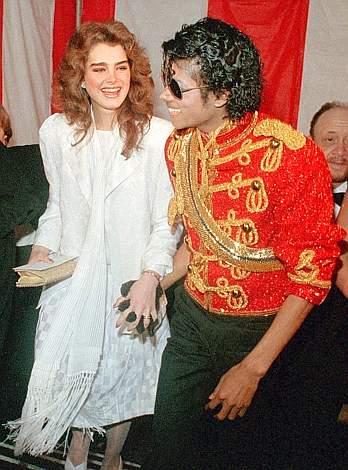 Nel 1984 con l'attrice Brooke Shields (Ap)