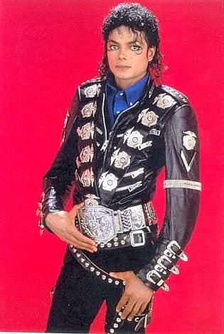 Michael Jackson nel 1996