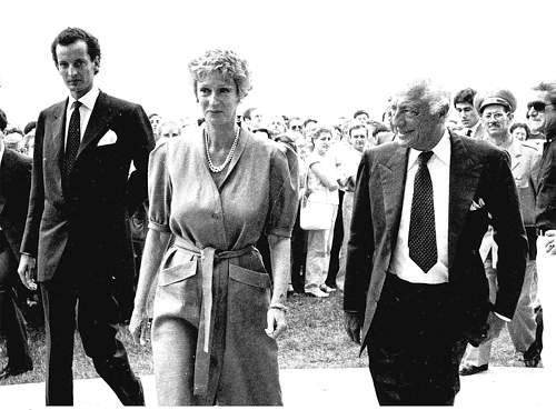 Gianni e Marella Agnelli con il figlio Edoardo morto nel 2000 (Archivio Corriere)