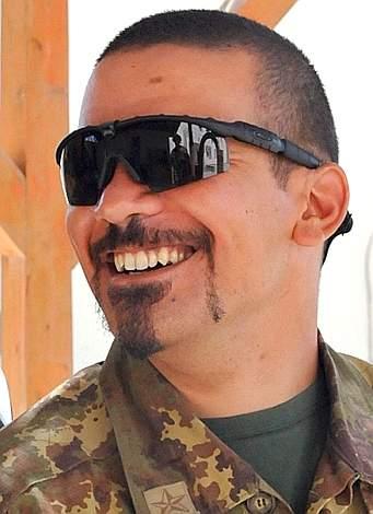 Una immagine del primo caporal maggiore Davide Ricchiuto (Ansa)