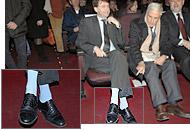 Franceschini: «Tutti come Mesiano, mettiamo calzini turchesi»