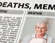 Pubblica un necrologio falso della madre voleva un for Necrologio corriere della sera