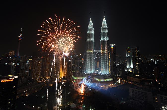 Le Petronas Tower a Kuala Lumpur, in Malesia (Afp)