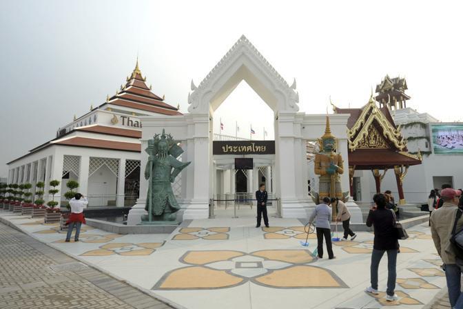 Il padiglione della Thailandia (Reuters)
