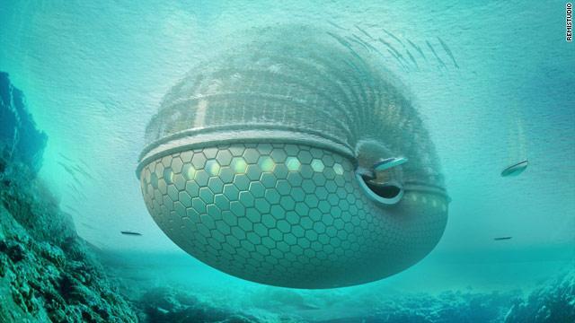 Una vista sottomarina dell'Arca