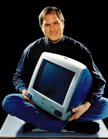 Nel 1998 con l'iMac (Ap/Brakha)
