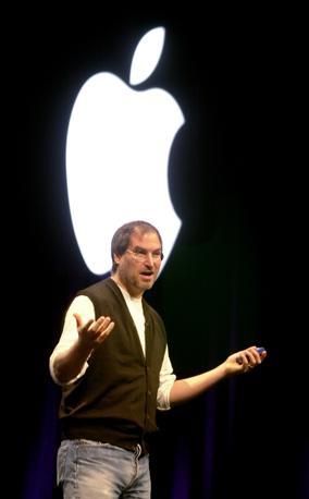 Al lancio del sistema OSX, nel 2000 a San Francisco (Ap/Sakuma)