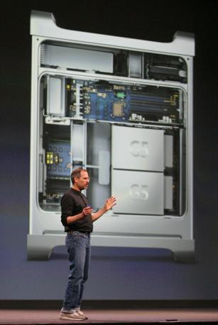 Il Power Mac G5 (Reuters/Dematteis)