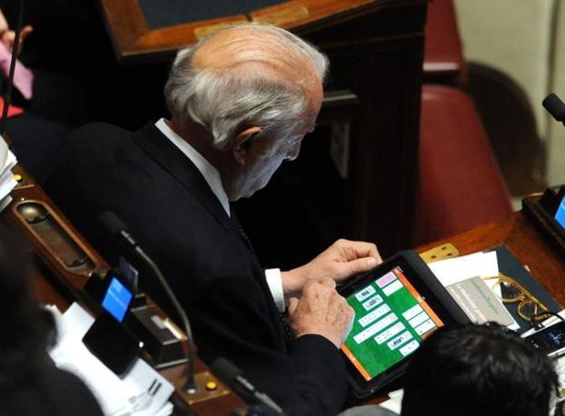 Gaetano Pecorella PDL nel parlamento italiano