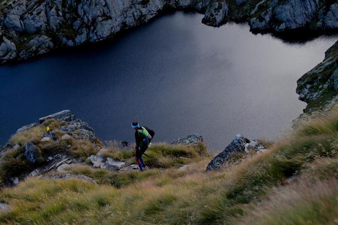 Discesa al Lac Du Fond verso Valgrise